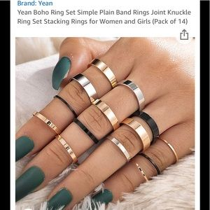Jewelry - Bohemian Knuckle Ring Set